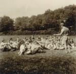 """861-es """"József nádor"""" cserkészcsapat akadályversenye 1945.05.21."""
