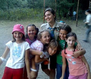Kiscserkészek Bugacon - 2009