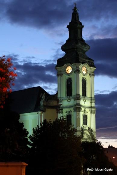 Felvonulás és gálaműsor a főtéren -Fotó: Mucsi Gyula