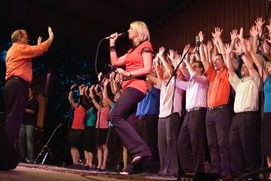 Golgota Gospel koncert - Fotó: Jászberény Online / Szalai György
