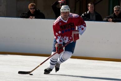 Jótékonysági jégkorongmeccs