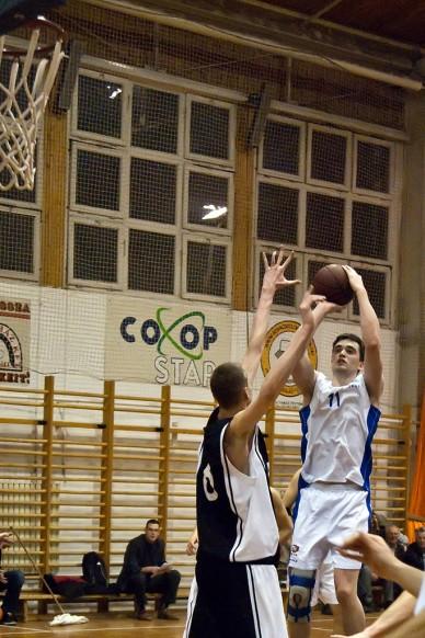 JKSE-Szolnoki Főiskola kosármeccs - Fotó: Szalai György