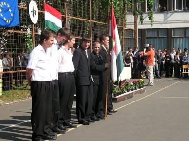 Ballagás a Liska József SZKI és Gimnáziumban (Fotó: jbo)