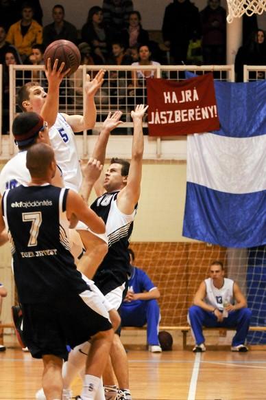 JKSE - Eger kosármeccs - Fotó: Jászberény Online /  Szalai György