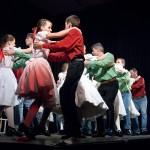 Paraszt Hair- a jászkiséri Pendzsom és Kiscsillag együttesek táncelőadása - Fotó: Jászberény Online -Szalai György