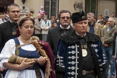 Lehel Vezér szobor-avató / Jászberény Online / Szalai György