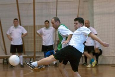 Teremfoci bajnokság 8. forduló 2010.01.23. - Fotó: Jászberény Online / Szalai György
