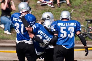 Jászberény Wolwerines- Budapest Titans2 - Fotó: Jászberény Online / Szalai György