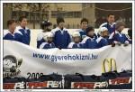 Mezeket ajándékozott a berényi hokisgyerekeknek a Jégkorong Szövetség - Fotó: Jászberény Online - Gémesi Balázs