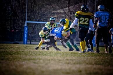 Jászberény Wolverines - Szolnok Soldiers amerikai foci mérkőzés Jászberény Online / Gémesi Balázs