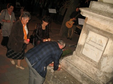 Az aradi vértanúkra emlékezett a Polgári Kör  - Fotó: Jászberény Online