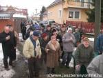 Felavatták a Csók utcai hidat - Fotó: Jászberény Online