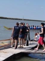 Electrolux csapat a Sárkányhajó Kupán - Fotó: Jászberény Online / Suba Bea