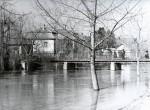 Tavaszi árvíz a Zagyva városi ágában - 1963. április