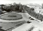A Főtér látképe a Nemzeti Bank emeletéről - 1964. július