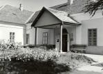 A Jász Múzeum egykori bejárata - 1964. június