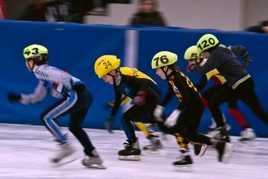 2009/2010-es Rövidpályás Gyorskorcsolya Diákolimpia - Fotó: Jászberény Online / Szalai György