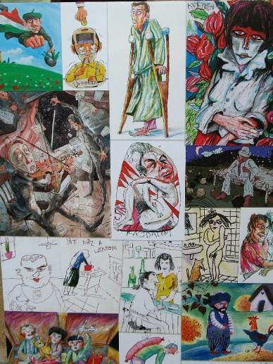MAGYARázat - a Hamza Stúdió kiállítása - Fotó: Jászberény Online