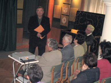 Volt egyszer egy filmklub - egykori amatőrfilmesek a Jász Múzeumban  Fotó: Jászberény Online