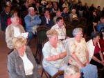 Polgári Kör fórum Csurka Istvánnal, Medveczky Ádámmal és Győri Bélával Fotó: Jászberény Online