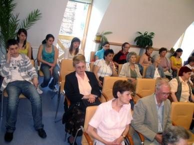 Radnótira emlékeztek születése 100. évfordulóján a Könyvtárban Fotó: Jászberény Online