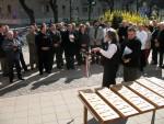 Rovásírásos helységnévtáblákat avattak a civil szervezetek - Fotók / Jászberény Online