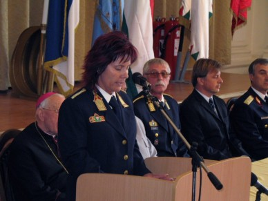 Szent Flórián napi ünnepség a tűzoltóknál Fotó: Jászberény Online